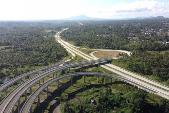 Ruas tol Manado-Danowudu segera beroperasi