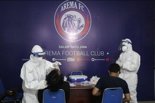 Pemain Arema FC jalani tes usap jelang bergulirnya Liga 1