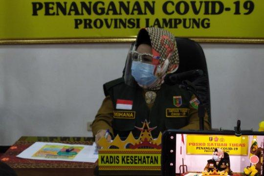 Pasien positif COVID Lampung bertambah 10 total 851 kasus