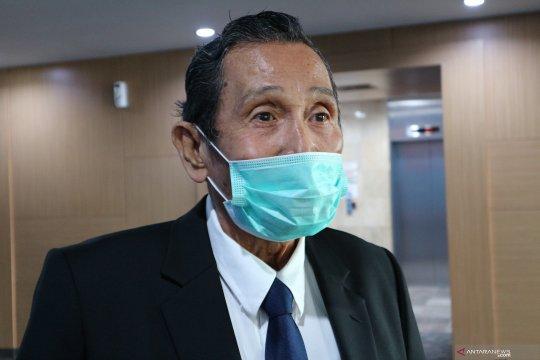 Anggota Dewas KPK Syamsuddin sehat tapi belum bisa bertugas