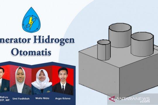 Tiga mahasiswa UB ubah limbah aluminium jadi energi listrik