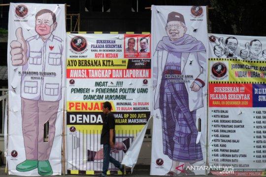 Kampanye ajakan tolak politik uang