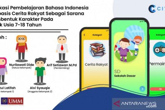 Mahasiswa UMM buat aplikasi Citra untuk pembelajaran Bahasa Indonesia