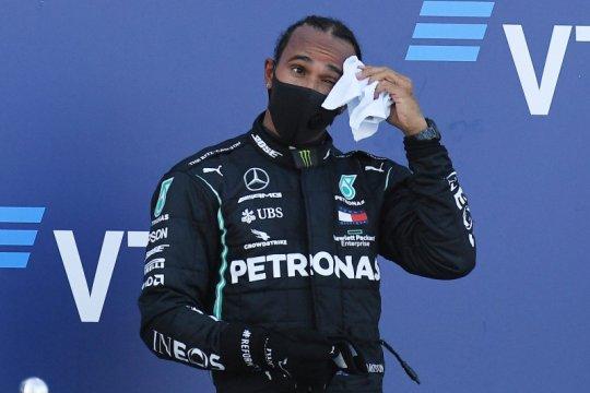 Steward batalkan penalti poin Hamilton di GP Rusia