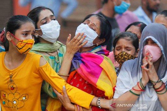 Kasus infeksi corona di India naik jadi 6,63 juta