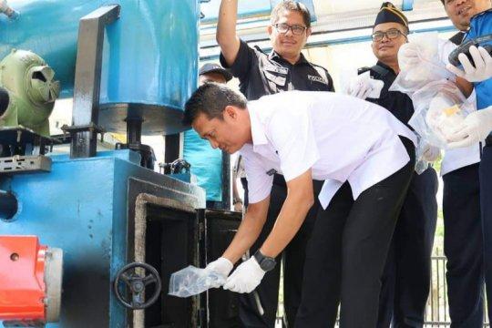 BNN Provinsi Kepri sita 4 kilogram sabu di Pulau Penyengat