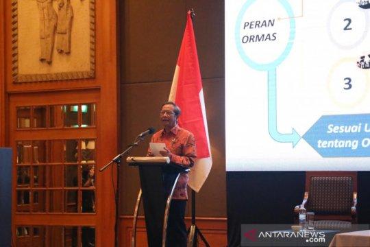 Mahfud ajak masyarakat konsisten jaga Indonesia dari kelompok radikal