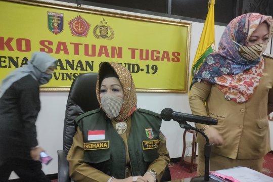 Pasien positif COVID-19 di Lampung bertambah 24, total 875