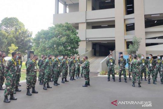 TNI kirim personel untuk tambahan tenaga medis di RSD Wisma Atlet