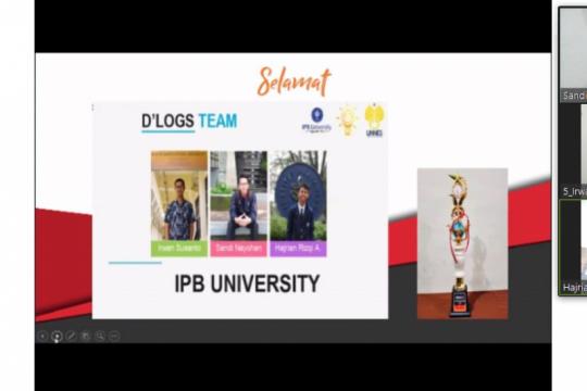 Mahasiswa IPB University raih juara di kompetisi festival ilmiah