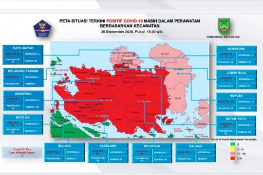 Tambahan 27 positif dan 28 sembuh COVID-19 di Batam