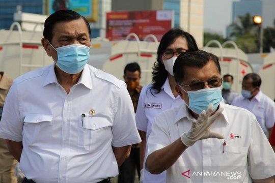 Luhut ungkap strategi hulu-hilir tangani pandemi COVID-19