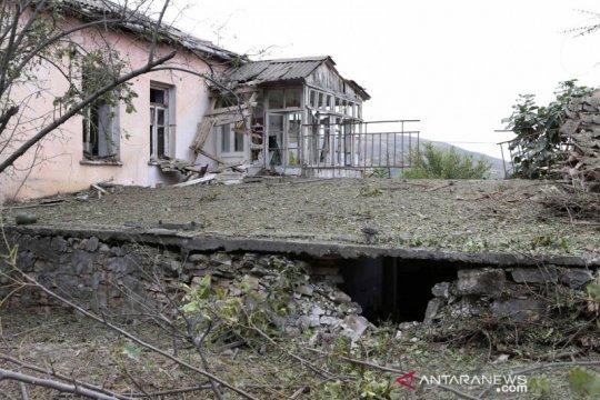 Rusia, Prancis tingkatkan seruan gencatan senjata di Nagorno-Karabakh
