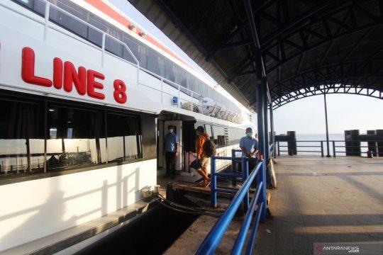 Arus penumpang di Pelabuhan Dumai menurun