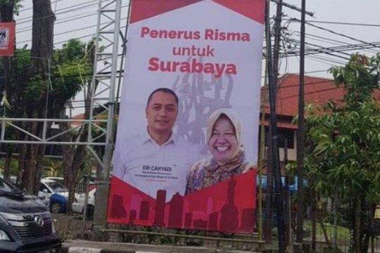 Bawaslu: Foto Risma boleh dipasang di APK Pilkada Surabaya