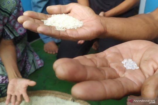 Polres kembali temukan biji plastik dalam beras bantuan