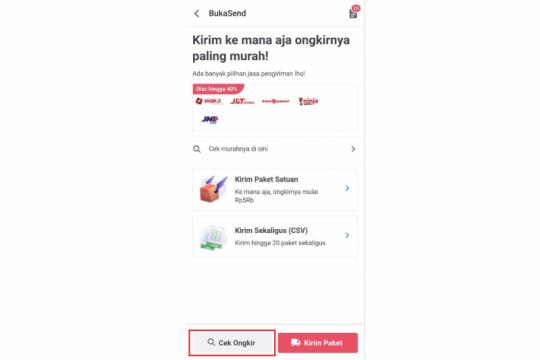 BukaSend, layanan baru Bukalapak untuk bantu kirim barang
