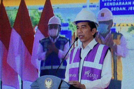 Secara daring, Presiden resmikan ruas Manado-Danowudu Sulawesi Utara