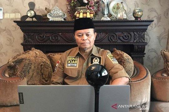 MPR dukung pemerintah berdialog dengan Habib Rizieq