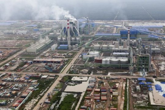 Pemkab OKI dorong peningkatan ekspor OKI Pulp & Paper