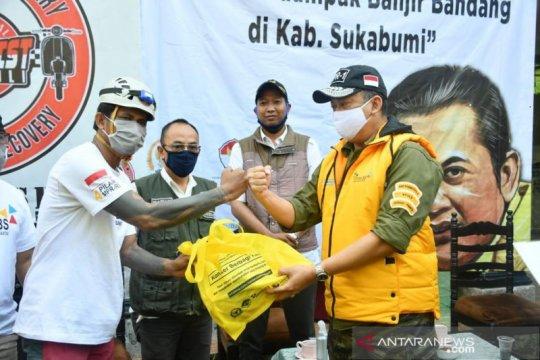 Bamsoet berikan bantuan pada korban banjir bandang Sukabumi