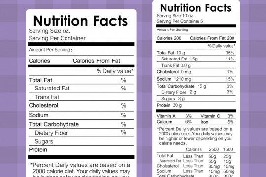 Label gizi di produk pangan bantu cegah risiko penyakit tidak menular