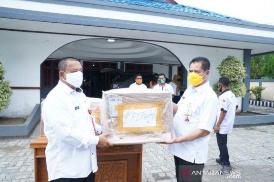 Kabupaten Keeerom-Papua dapat bantuan 5.000 masker