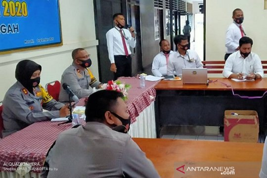Polres Maluku Tengah tetapkan 8 tersangka dugaan korupsi dana desa