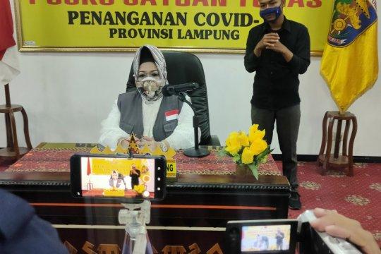 Pasien sembuh dari COVID-19 di Lampung bertambah jadi 648