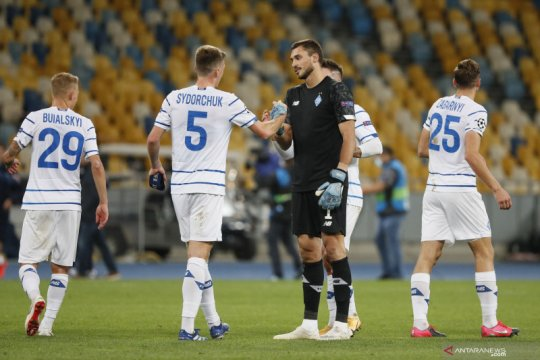 Play-off Liga Champions: Dynamo Kyiv lolos ke fase group