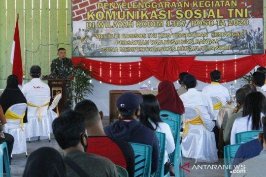 TNI di Poso gandeng masyarakat perkuat komunikasi sosial