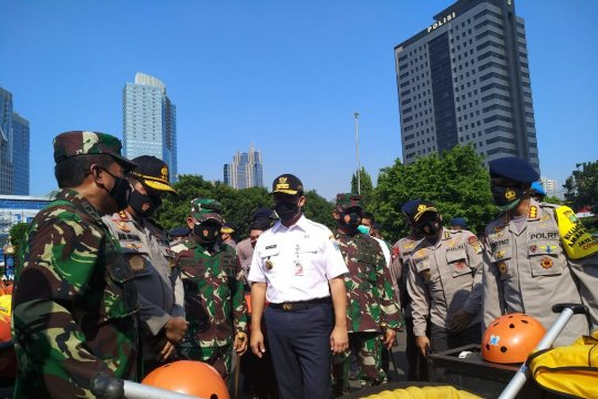 Jakarta hadapi banjir dan pandemi COVID-19 sekaligus