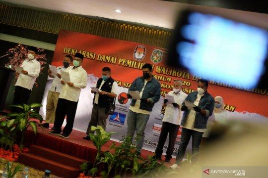Deklarasi damai Pilkada Medan