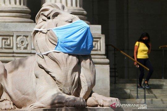 New York denda orang-orang yang menolak gunakan masker