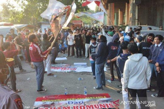 Polisi bubarkan aksi tolak PKI di Jakarta Utara
