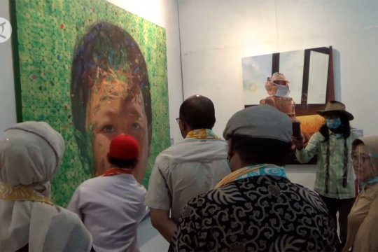 30 lukisan karya perupa Minang dipamerkan di Taman Budaya Padang