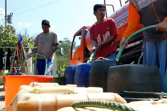BPBD Temanggung salurkan bantuan air bersih