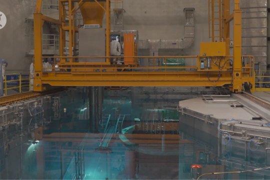 China isi bahan bakar di unit nuklirnya dengan reaktor buatan dalam negeri