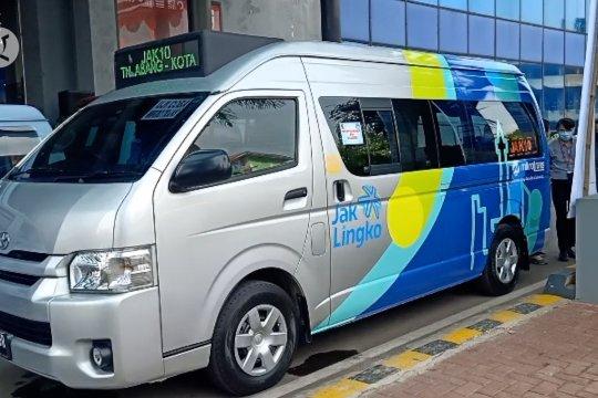 Dishub DKI uji coba Mikrotrans gratis rute Tanah Abang-Kota