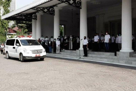 Gubernur Anies pimpin penghormatan terakhir kepada almarhum Sekda DKI