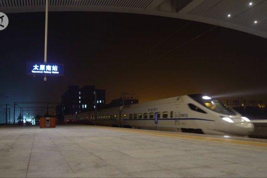 Kereta cepat Taiyuan-Jiaozuo terkoneksi dengan terminal di China Utara