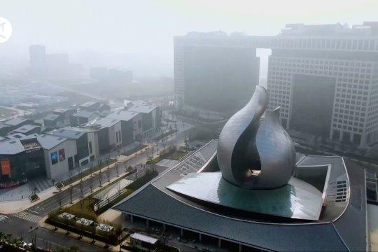 Museum arsitektur Wuhan pamerkan kecepatan China dalam perangi COVID-19