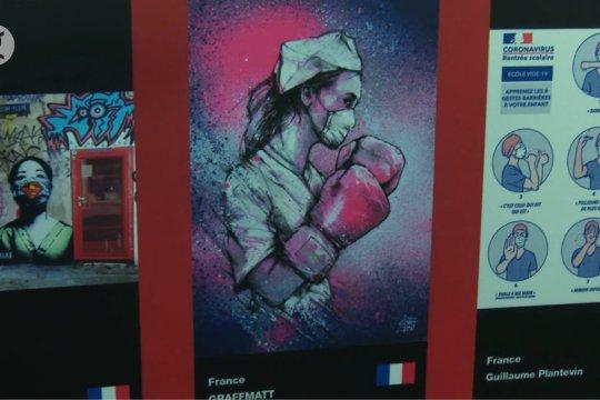 "Pameran ""Helpful Art in COVID"" digelar di Praha"