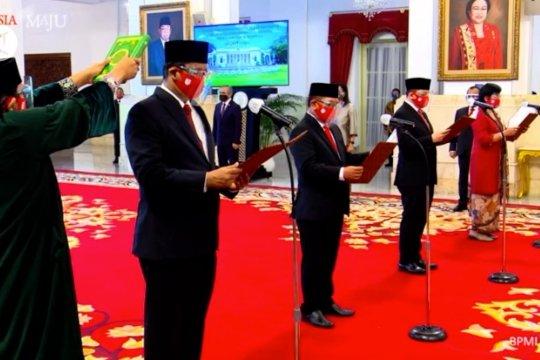 Presiden lantikanggota dewan komisioner LPS