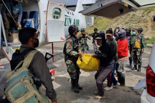 Babinsa TNI dan pengemudi ojek diserang KKB di Intan Jaya Papua