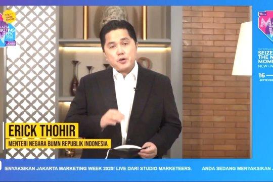 Erick Thohir sebut BUMN harus kreatif atasi dampak kesehatan & ekonomi COVID-19