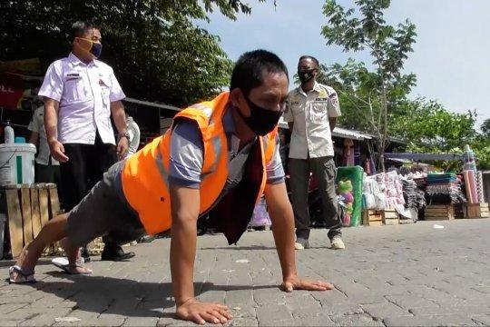 Gubernur Jateng pimpin langsung operasi yustisi di Kota Semarang