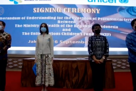 Indonesia - Unicef kerjasama pastikan ketersediaan vaksin Covid-19