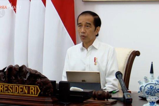 Ini kata Presiden Jokowi soal jadwal vaksinasi