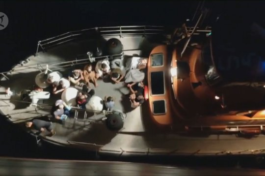Kapal kargo China selamatkan 41 orang yang terombang-ambing di Laut Aegean